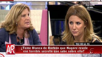 Nagore y Blanca de Borbón cara a cara