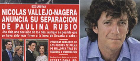 Colate confirma que Paulina Rubio y él se han separado