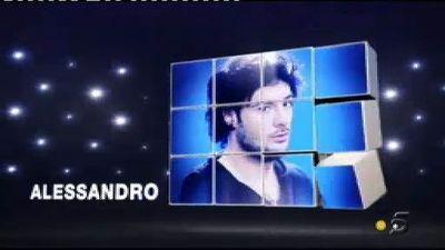 Alessandro primer finalista de GH 12+1