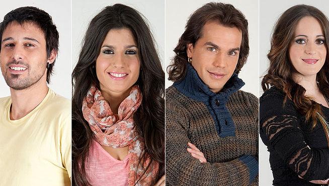Pepe, Sindia, Hugo y María nominados