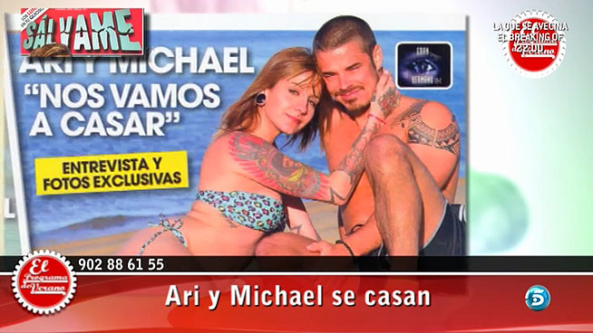 Ariadna y Michael de GH 12+1 se casan el próximo año