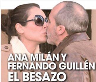 Ana Milán y Fernando Guillén Cuervo juntos