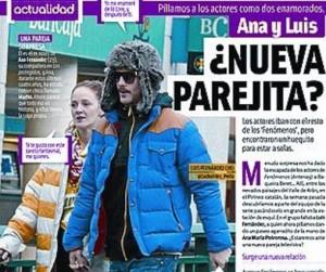 Ana Polvorosa y Luis Fernández